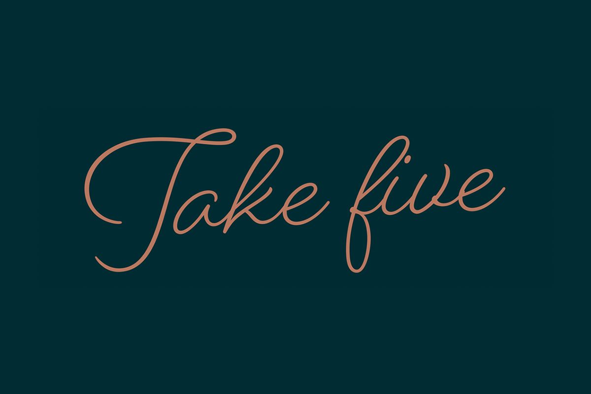Take Five - Meeting & Event Offers Shrewsbury